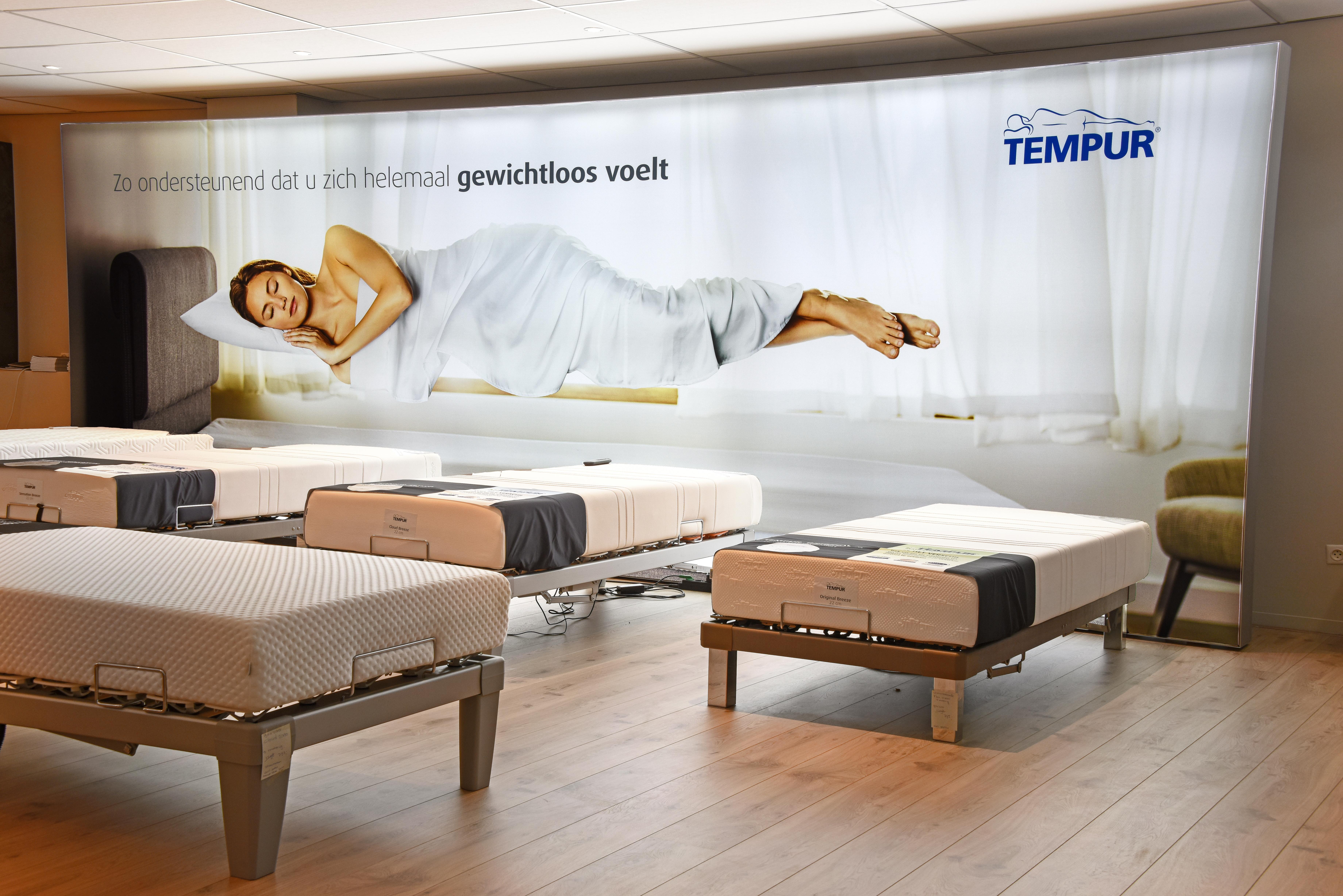 Tempur klinkers wonen en slapen